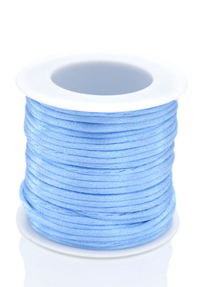 www.snowfall-beads.com - Imitation silk cord 2mm (20m)