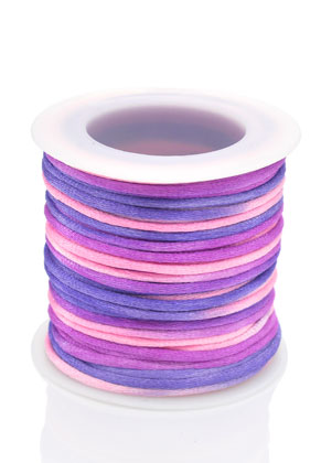 www.snowfall-beads.com - Satin cord 2mm (20m)