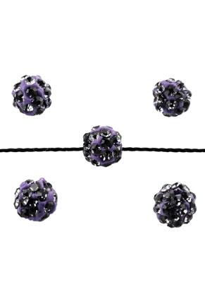 www.snowfall-beads.com - Strass beads round 6mm