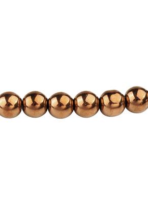 www.snowfall-beads.com - Glass pearls round 8mm (100 pcs.)