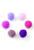www.snowfall-beads.nl - Mix stoffen pompon balletjes 15mm