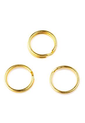 www.snowfall-beads.com - Metal key fob rings 15mm