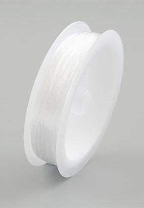 www.snowfall-beads.com - Elastic nylon thread flat 0,8mm (30 meter per roll)