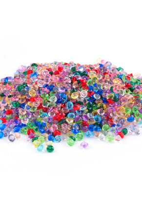 www.snowfall-beads.com - Mix synthetic pointed backs round 2,5mm