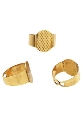 www.snowfall-beads.nl - Metalen ringen >= Ø 17,5mm met kastje voor 16mm en 16x12mm plaksteen