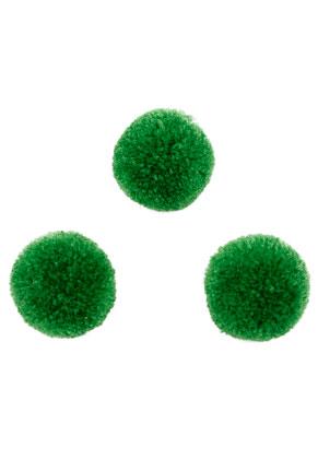 www.snowfall-beads.com - Textile pompoms 20mm