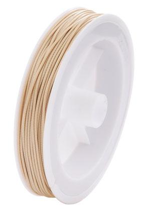 www.snowfall-beads.com - Wax cord 1,5mm (20 meter per roll)