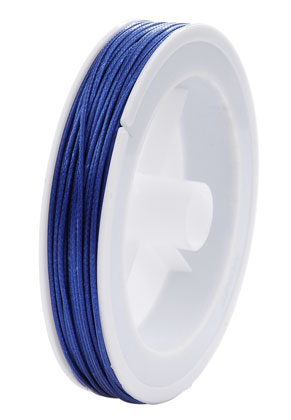 www.snowfall-beads.com - Wax cord 1,5mm (20 meter per roll)