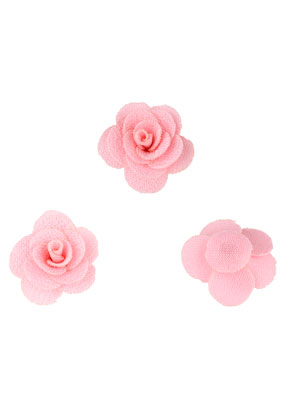 www.snowfall-beads.com - Textile flowers 25mm