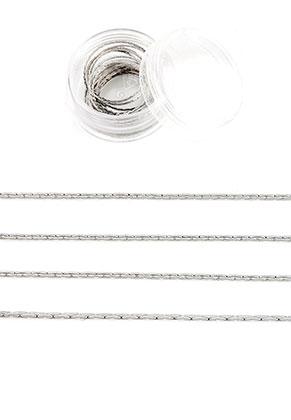 www.snowfall-beads.nl - Brass ketting 0,5mm