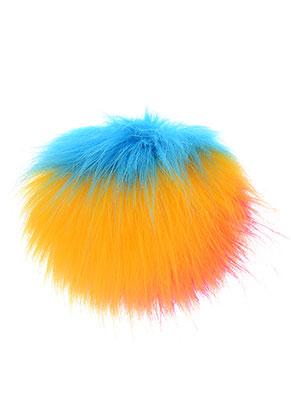 www.snowfall-perles.be - Boule de peluche avec boucle en élastique 10cm
