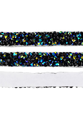 www.snowfall-beads.nl - Strass band zelfklevend, 10mm breed
