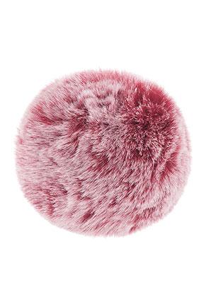 www.snowfall-beads.nl - Pluizenbol met elastisch lusje 90mm