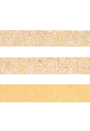 www.snowfall-beads.com - Strass cord self-adhesive, 15mm wide
