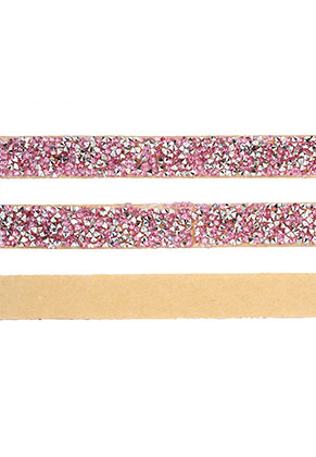 www.snowfall-beads.nl - Strass band zelfklevend, 15mm breed