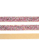 www.snowfall-beads.nl - Strass band zelfklevend, 15mm breed - D24000