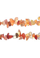 www.snowfall-beads.de - Naturstein Perlen Agate 4-14x1-8mm - D24077