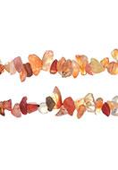 www.snowfall-beads.de - Naturstein Perlen Agate 4-14x1-8mm - D24077