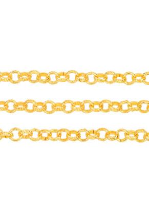 www.snowfall-beads.fr - Chaîne en métal décorés, avec maillon 5mm