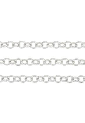 www.snowfall-beads.fr - Chaîne en métal décorés, avec maillon 6mm