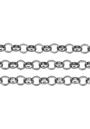 www.snowfall-beads.fr - Chaîne en métal avec maillon 10mm