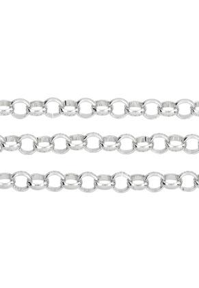 www.snowfall-beads.nl - Metalen jasseron met 8mm schakel