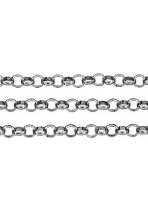 www.snowfall-beads.fr - Chaîne en métal avec maillon 5mm