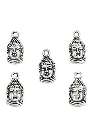 www.snowfall-perles.be - Pendentifs/breloques en métal Bouddha 16x8mm