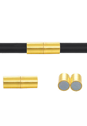 www.snowfall-beads.be - Brass magnetische sluitingen 20x7mm