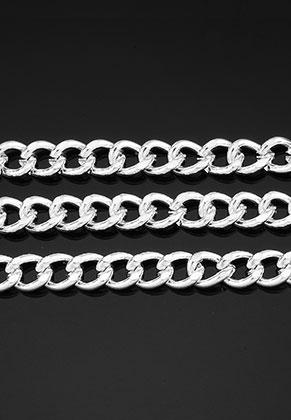 www.snowfall-beads.es - Cadena de metal con eslabones 7x5mm (± 100cm)
