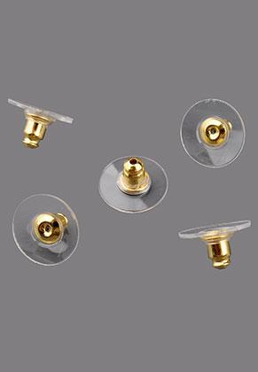www.snowfall-beads.es - Tuercas para pendientes de brass y sintético 12x7mm