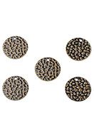 www.snowfall-beads.com - Brass pendants/charms round 13mm - D26284