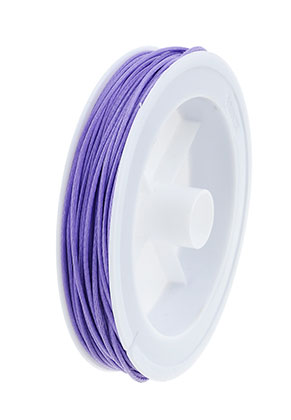 www.snowfall-beads.com - Wax cord 1mm (20 meter per roll)