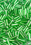 www.snowfall-beads.com - Glass seed beads bugle/tube 7x2mm (650 pcs.) - D27126
