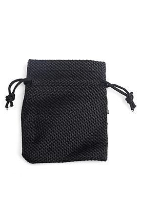 www.snowfall-perles.be - Sacs en textile pour présentes 9x6,5cm