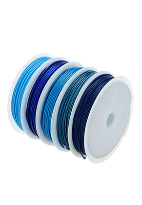 bc1888c20be5 Mezcla de cordón encerado 1mm (5 x 5 metro)