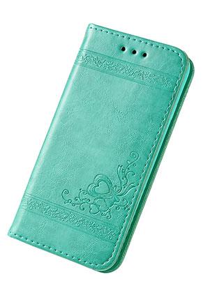 www.snowfall-fashion.fr - Housse pour portable iPhone 7 / iPhone 8 book case en cuir artificiel 14x7,1x1,5cm