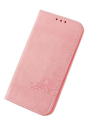 www.snowfall-beads.nl - Imitatieleren book case telefoonhoesje voor iPhone X 14,6x7,6x1,6cm