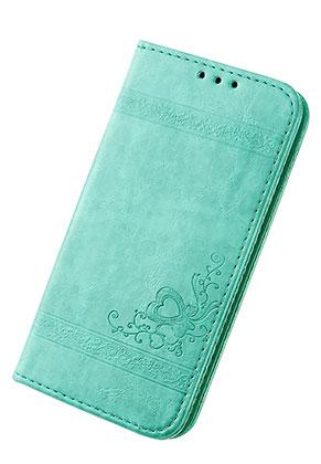www.snowfall-fashion.fr - Housse pour portable iPhone X book case en cuir artificiel 14,6x7,6x1,6cm