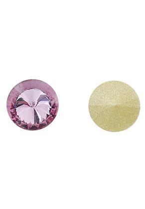 www.snowfall-beads.co.uk - Glass crystal rivoli round 12mm