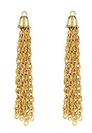 www.snowfall-beads.com - Metal tassel 84x12mm - D27967