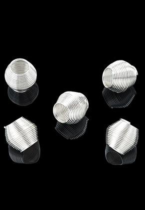 www.snowfall-beads.fr - Style grand-trou perles en métal 20x18mm