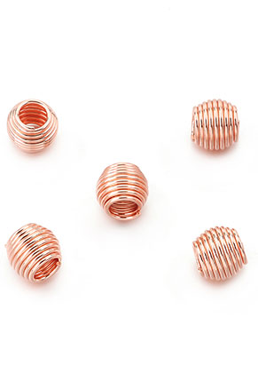 www.snowfall-beads.com - Large-hole-style metal beads 12x10mm