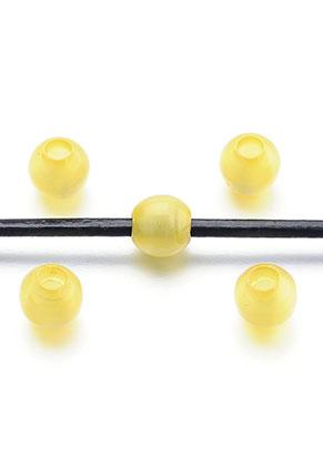 www.snowfall-beads.nl - Groot-gat-style kunststof kralen cateye 9,5x9mm
