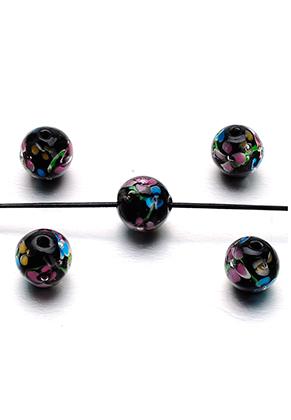 www.snowfall-perles.be - Perle en verre Italian style ronde 12mm