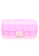 www.snowfall-beads.com - Synthetic box with maximum 10 compartments 13x7cm - D29167
