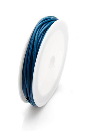 www.snowfall-beads.com - Leather cord 500cm, 2mm thick