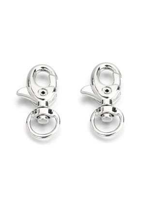 www.snowfall-beads.com - Metal key fob clasps 30x15mm