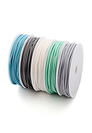 www.snowfall-beads.com - Mix wax cord 1,5mm (5 meter) - D30427