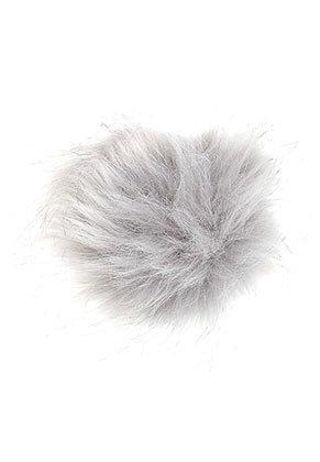 www.snowfall-beads.nl - Pluizenbol met elastisch lusje 10cm